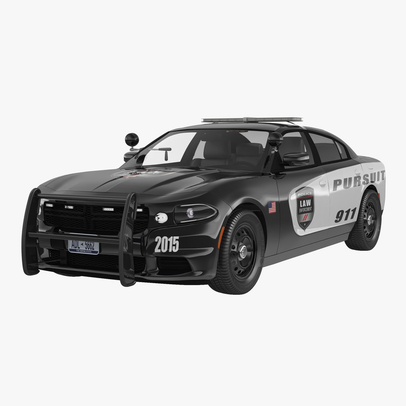 Generic Police Car 3d model 00.jpg