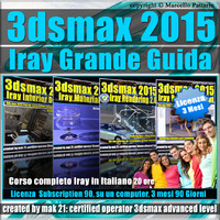 3ds max 2015 Iray La Grande Guida 3 Mesi Subscription