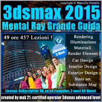 3ds max 2015 Mental Ray Grande Guida 3 Mesi Subscription