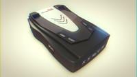 3d radar detector whistler xtr model