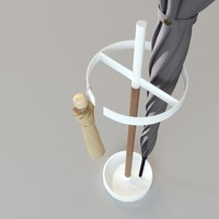modern umbrella 3d max