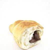 3d model croissant cut