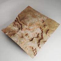 3d model canyon