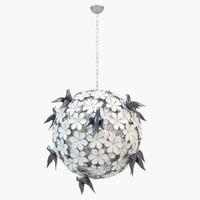 maya visionnaire acanthus chandelier ipe