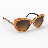 3d stylish bvlgari sunglasses model
