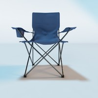 3ds max camping chair