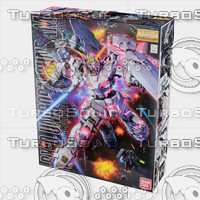 MG RX-0 Unicorn Gundam (box)