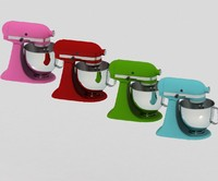 3d model kitchen mixer