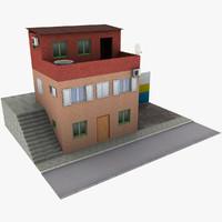 3d model house details