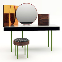 3d vanity dressing table