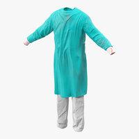 3d surgeon dress 6