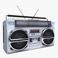 Boombox Stereo Cassette Player