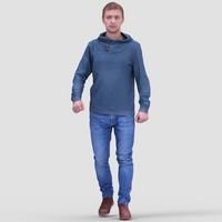 realistic human 3d max