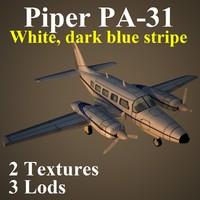 piper dbl 3d model