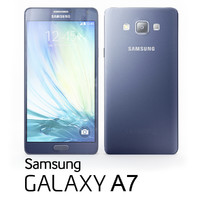 samsung galaxy a7 black 3d max