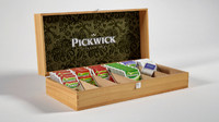 obj wooden box pickwick tea