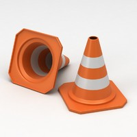 maya traffic cones