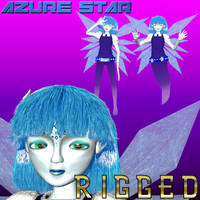 nebula girl fairy ghost 3d max
