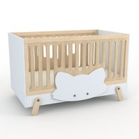 3d model fox gaeaforms crib