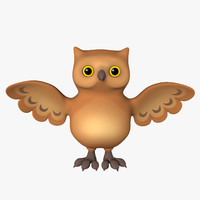owl cartoon toon max