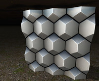 Octahedral Wall Substance