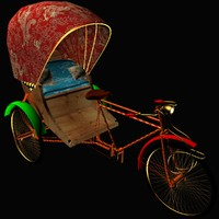 chinese rickshaw 3d 3ds