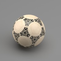 soccer ball 86 3d model