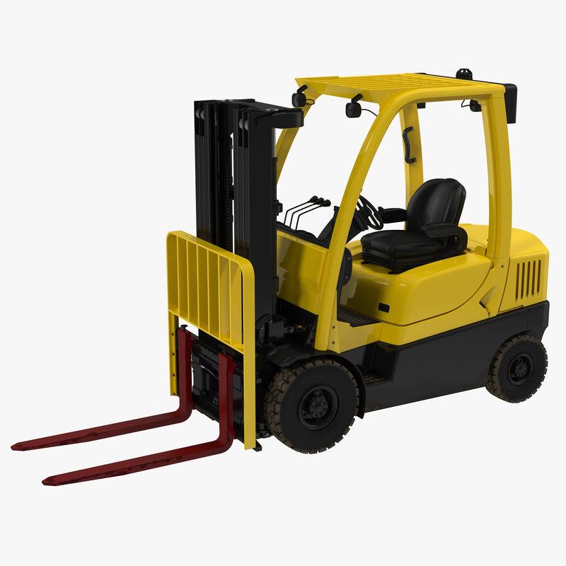 Forklift 3d model 00.jpg