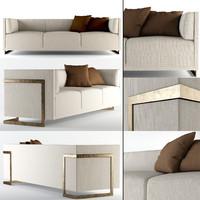 troscan oslo sofa 3d model