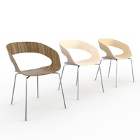 chat plycollection chair 3d max