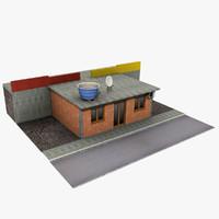 house details 3d model