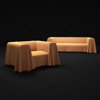 cape-sofa 3d max