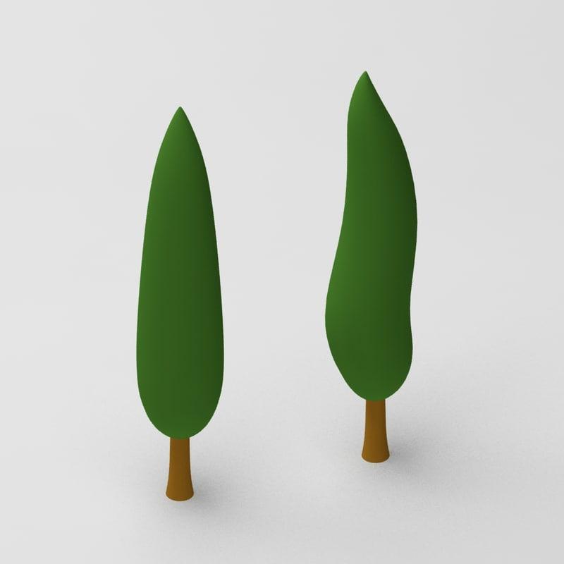 Cartoon cypressus tree 1.jpg
