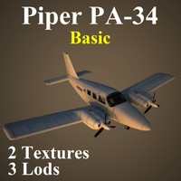 piper seneca basic 3d model