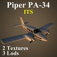 3d piper seneca model