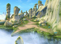 3dsmax cartoon valley