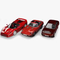 3d model of cars vehicle datsun