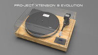 Pro-Ject Xtension 9 Evolution 3d turntable model