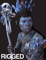lithican witch 3d model
