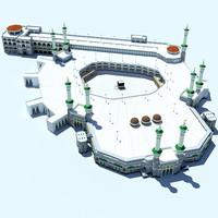 3d masjidil haram