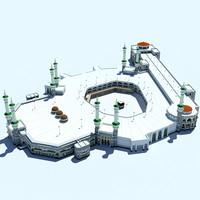 3dsmax masjidil haram