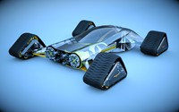 3d tracks designed model