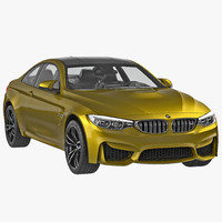 3d model bmw m4 coupe