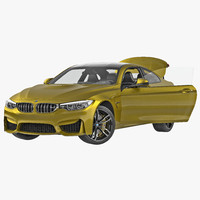 BMW M4 Coupe 2015 Rigged