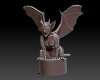 free 3ds model gargoyle