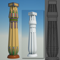 egyptian column 2