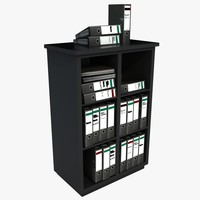 office filing unit 3d model