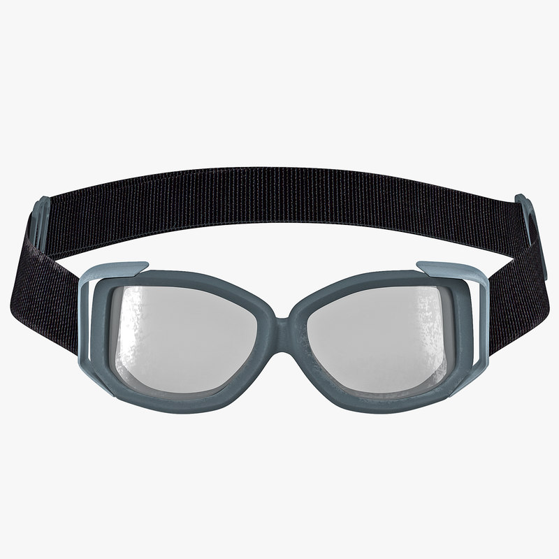 Tactical Goggle Glasses 3d model 00.jpg