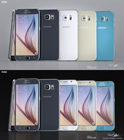 Samsung Galaxy S6 All Colors Modo Octane