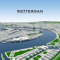 dxf rotterdam cityscape